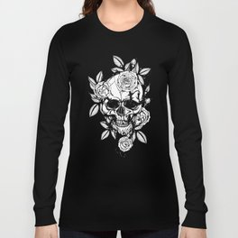 Skull N Roses Long Sleeve T-shirt