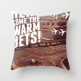 Here They Come! Throw Pillow