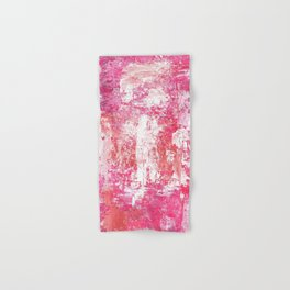 Roses Play Color On Ice Hand & Bath Towel