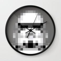 Stormtrooper 8-Bit Wall Clock