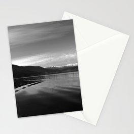 Lake Monochrome Silence I Stationery Cards