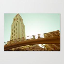 Bridge to City Hall (W3) Canvas Print