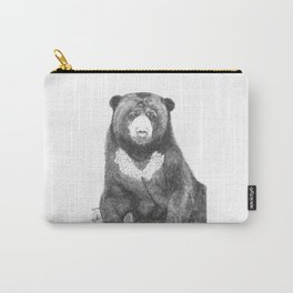 Malayan Sun Bear (Beruang Madu) Carry-All Pouch