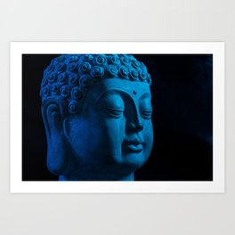 Budda Art Print