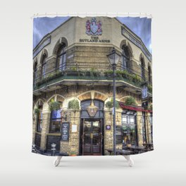 The Rutland Arms London Shower Curtain