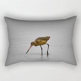 Marbled Godwit Rectangular Pillow