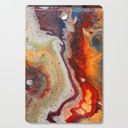 Fiery closeup Cutting Board