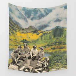Mountain sound Wall Tapestry