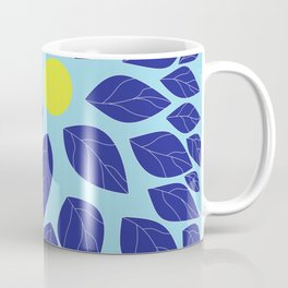 moon leaves Coffee Mug