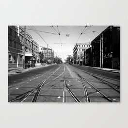 Off Queen - Roncesvalles Avenue - South Canvas Print