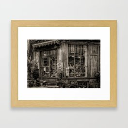 Cafe Laurence Framed Art Print