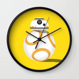 Robot portrait Wall Clock