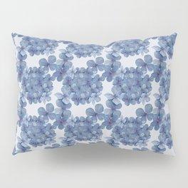 Hydrangea Blue Pillow Sham