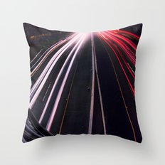 Passing By Throw Pillow