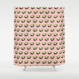 Peyote cactus pattern Shower Curtain