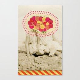 Confetti Series 040 Canvas Print