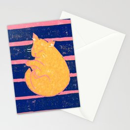 Mikan Cat #2 Stationery Cards