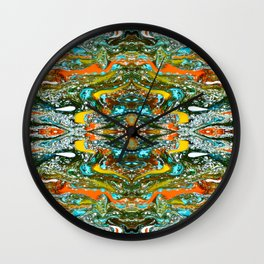 abstract shapes 12 Wall Clock