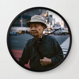 Streets of Tokyo Wall Clock