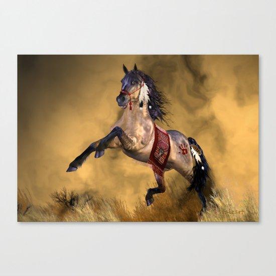 HORSE - Dreamweaver Canvas Print