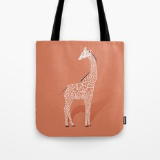 Animal Kingdom: Giraffe I Tote Bag