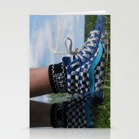 vans Stationery Cards featuring Dirty vans by Bryden McDonald