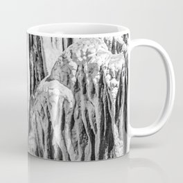 No Snow! But Structures In Dripstone Cave. Coffee Mug