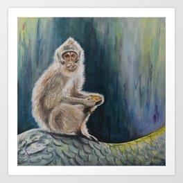 Bali Bandit Art Print