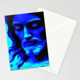 Blue Jesus Stationery Cards