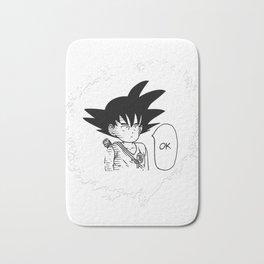 Ok One Punch man Goku Dragon Ball Bath Mat