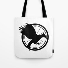 Catching Fire MockingJay  Tote Bag