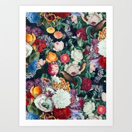 EXOTIC GARDEN - NIGHT XIII Art Print