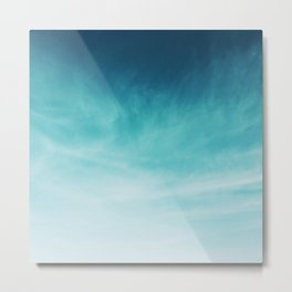 Magical Blues Metal Print