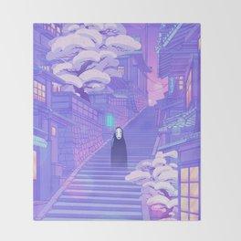 Kaonashi Throw Blanket