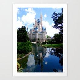 MAGIC KINGDOM: Cinderella Castle (3) Art Print