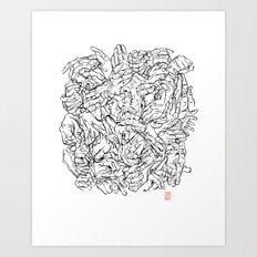 Gesticulibrary Art Print
