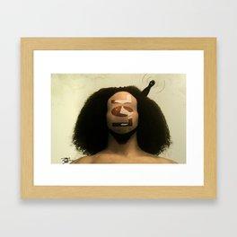 Contemporary Message Framed Art Print