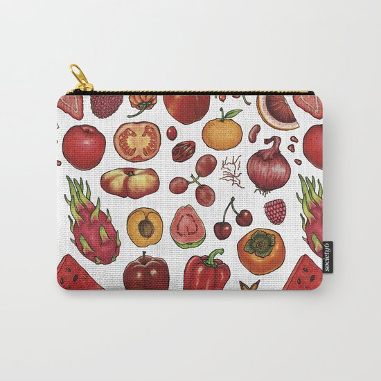 Red Food Carry-All Pouch