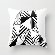 Ijsberg Throw Pillow