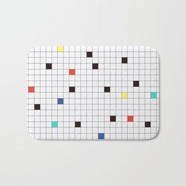 Crossword Puzzle #GraphicDesign #Minimalism Bath Mat