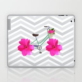 Petal Pusher Bike Laptop & iPad Skin