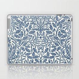 William Morris Navy Blue Botanical Pattern 2 Laptop & iPad Skin