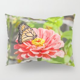 Butterfly and The Flower Pillow Sham