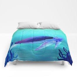 Underwater friends Comforters
