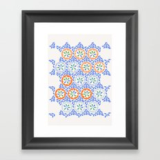 Moroccan Spring two Framed Art Print