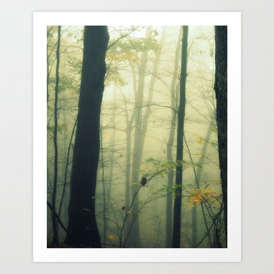 Let the Silence Take Me Art Print