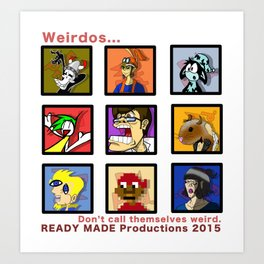 Ready Made Productions Promo Poster 2015 Art Print