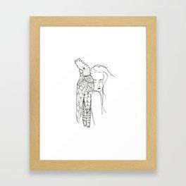 Her Mate Framed Art Print