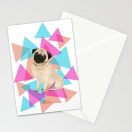 It's a pup's world Stationery Cards