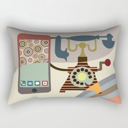 Telecom Chic Rectangular Pillow
